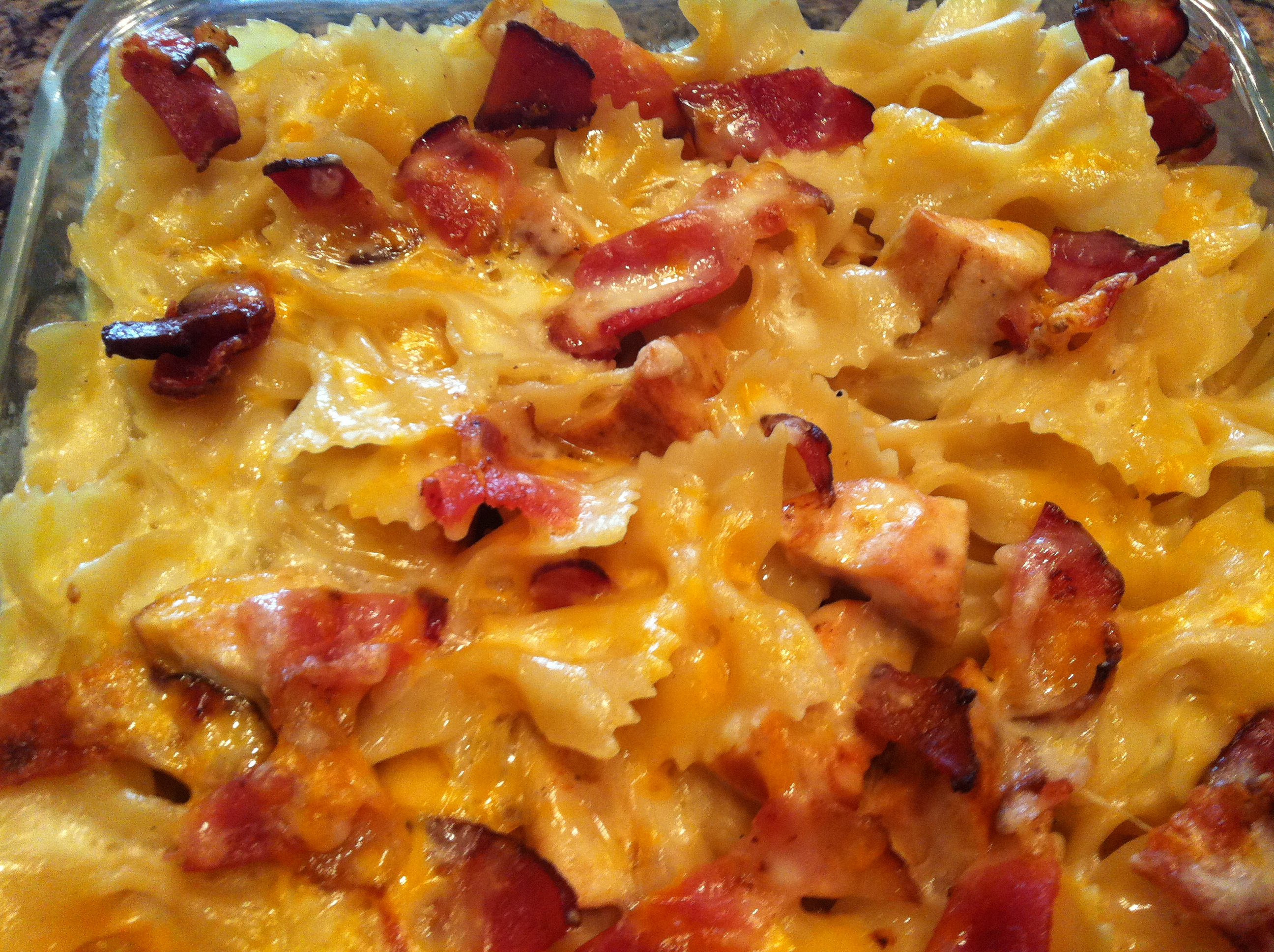 Chicken Bacon Bowtie Pasta