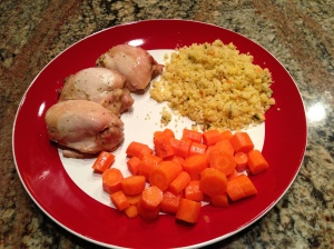 Lemon Chicken w: Couscous